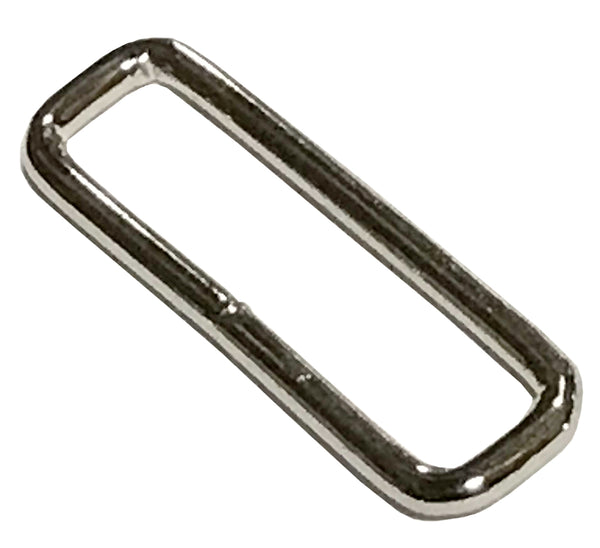 "Rectangle Welded 2"" Metal Loop - Package Quantity 10 - 1000 - Troyer Products"