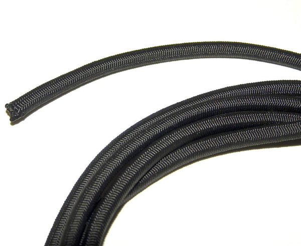 "3/16"" Black Shock Cord - Sold by the yard - Package Quantity - Troyer Products"