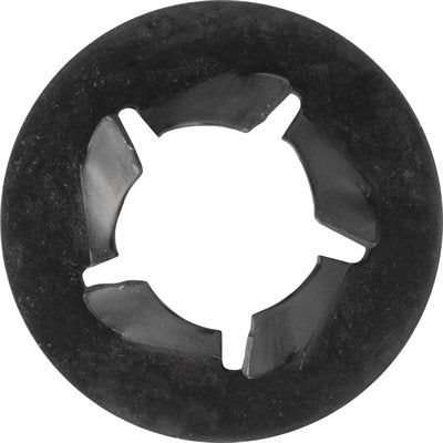 "Pushnut Bolt Retainer 1/4"" Bolt 1/2"" Outside Diameter - Package Quantity 100 - Troyer Products"