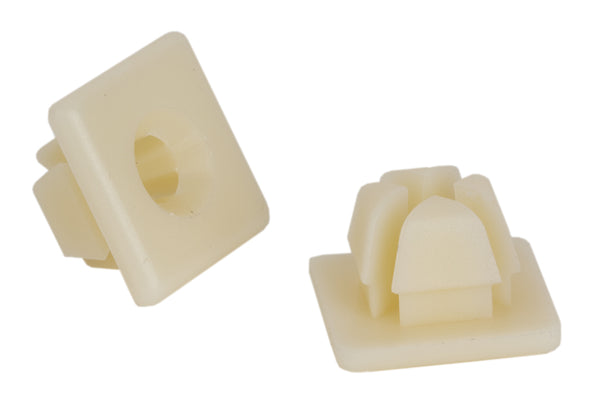 "License Plate Nuts - 1/4"" Nylon 50/Bag"