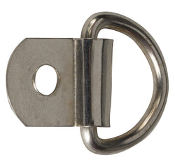 "5/8"" D-Ring with Attaching Tab"