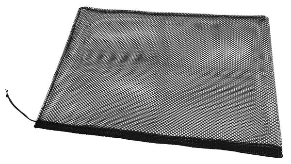 "Black Mesh Laundry/Gym Bag 36"" Wide x 24"" Deep - Package Quantity - Troyer Products"