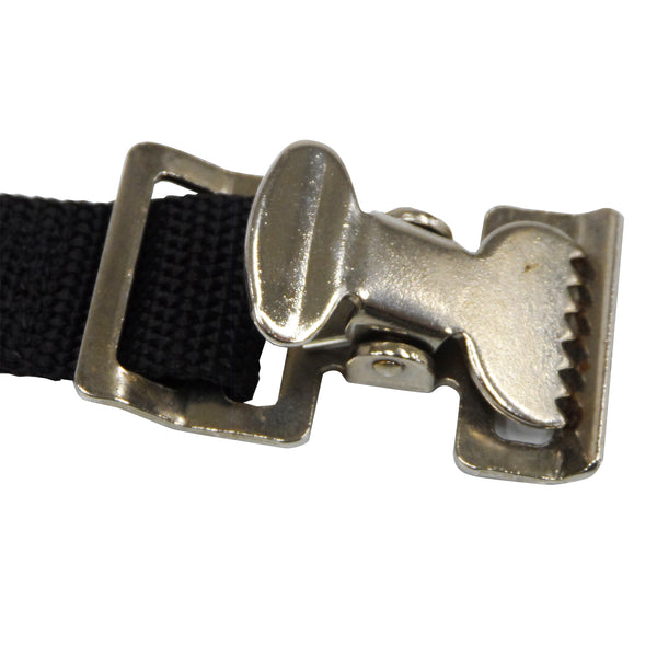 Nickel Plated Alligator Buckle Clip