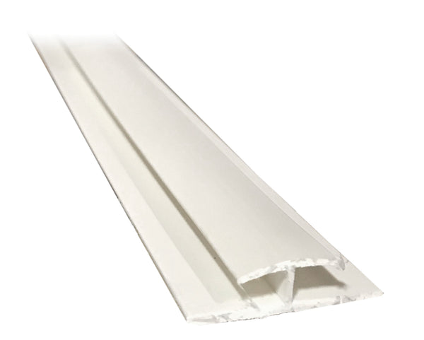 "H Divider .200"" - White - Package Quantity 800 Feet per Box - Troyer Products"