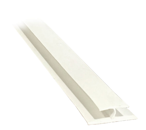 "H Divider 1/4"" - White - Package Quantity 800 Feet per Box - Troyer Products"