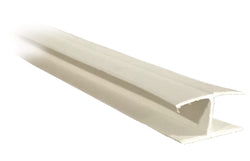 "H Divider .380"" - White - Package Quantity 800 Feet per Box - Troyer Products"