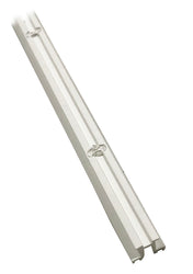 Low Profile Curtain Track - White