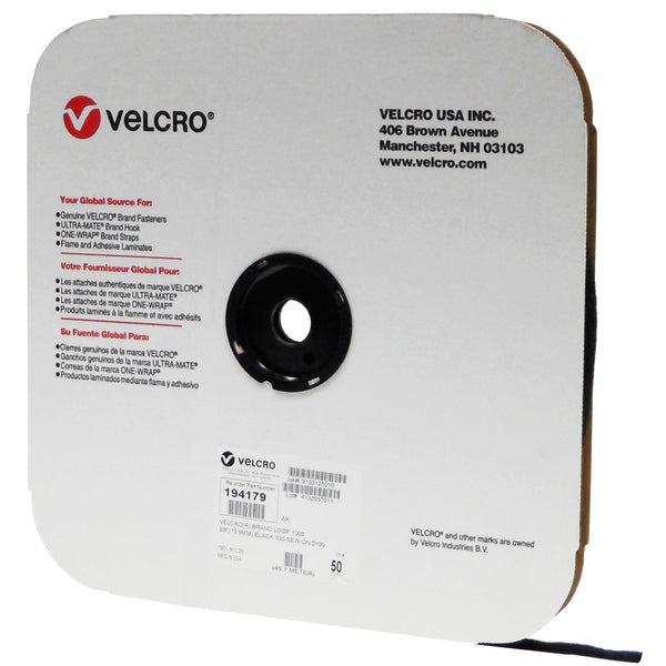 VELCRO® Brand Loop 1000 Sew On - 50 Yard Roll - Troyer Products