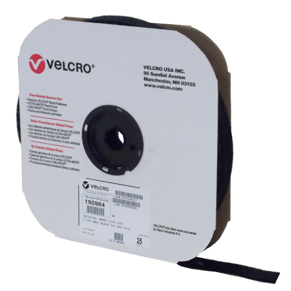 VELCRO® Brand Loop 1000 Pressure Sensitive Adhesive - 25 Yard Roll - Package Quantity One Roll - Troyer Products