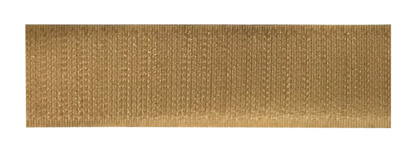 "TEXACRO® Brand Hook 88 1"" Beige Pressure Sensitive Adhesive - 25 Yard Roll"