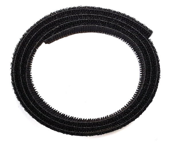 "VELCRO® Brand BACK-TO-BACK®; Hook 88 - Loop 2000 3/4"" Black - 36"" Strip - Troyer Products"