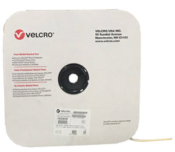 "VELCRO® Brand BACK-TO-BACK® Hook 88 / Loop 1000 1/2"" White - Package Quantity One Roll - Troyer Products"