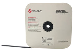 "VELCRO® Brand BACK-TO-BACK® Hook 88 / Loop 1100 3/4"" Black - Package Quantity One Roll - Troyer Products"