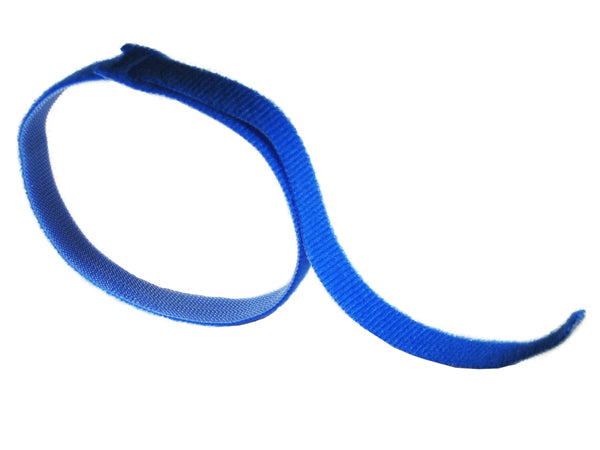 "VELCRO® Brand ONE-WRAP® Tie Straps BLUE - 18"" X 3/4"" - Package Quantity 1 - Troyer Products"