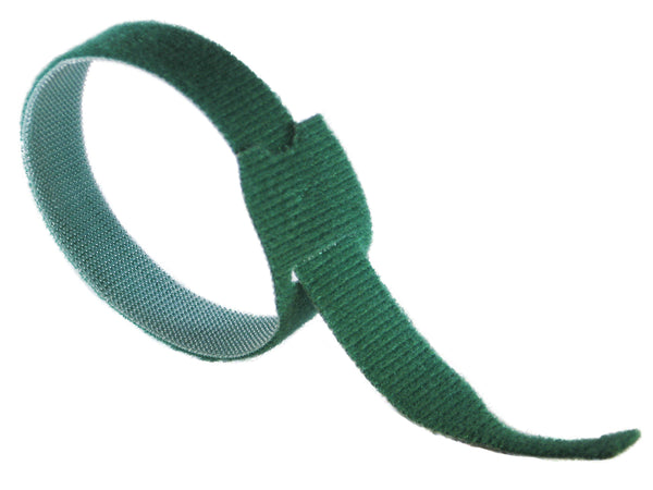 "VELCRO® Brand ONE-WRAP® Tie Straps GREEN - 12"" X 1"" - Package Quantity 1 - Troyer Products"