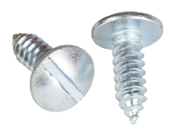 "License Plate Screw - #14 X 3/4"" 100/Box"