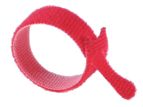 "VELCRO® Brand ONE-WRAP® Tie Straps RED - 6"" X 3/4"" - Package Quantity - Troyer Products"