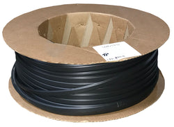 "Flexible Trim 3/4"" Wide - Black - Package Quantity 600 Feet per Roll - Troyer Products"
