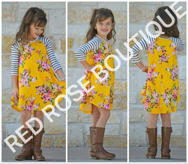 SALE!! Fall Floral Dress