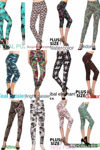 SALE!! Misses Capri Leggings