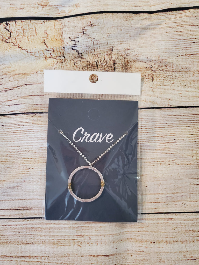 SALE!! Crave Circle Necklace