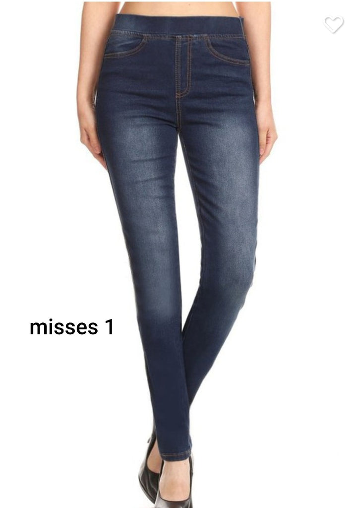 PREORDER Misses Denim Jeggings