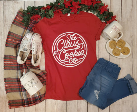 Claus Cookie Co Graphic Tee
