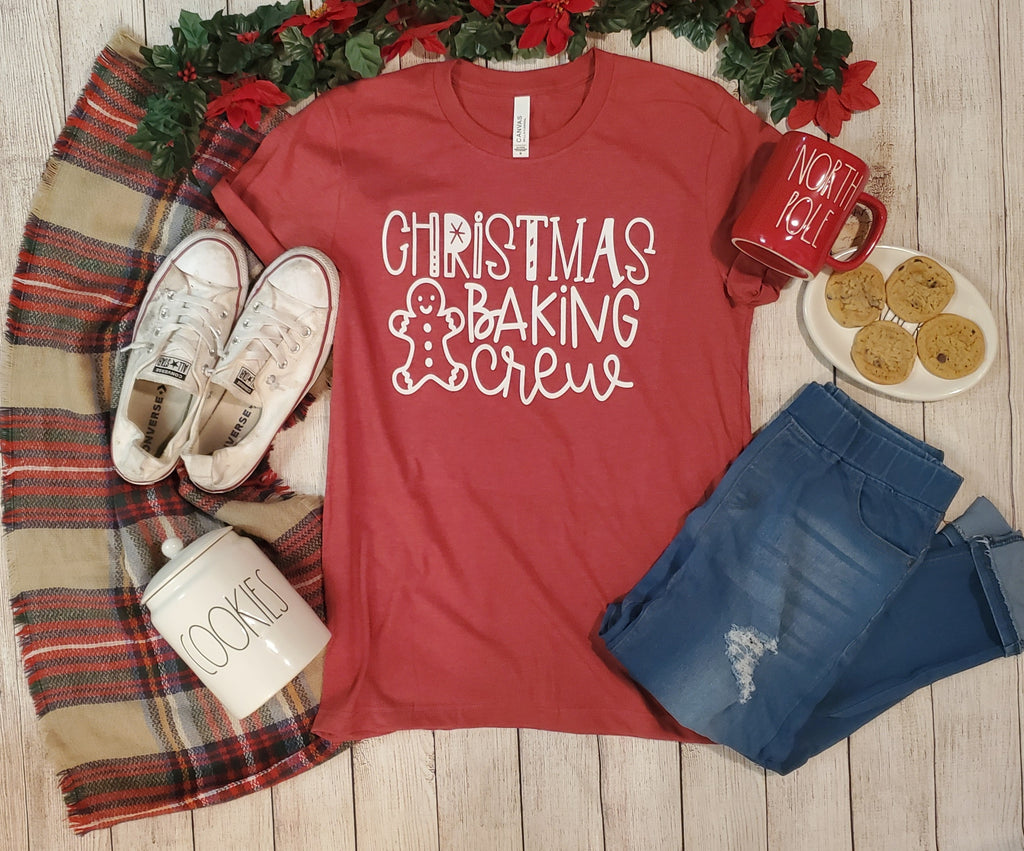 Christmas Baking Crew Graphic Tee