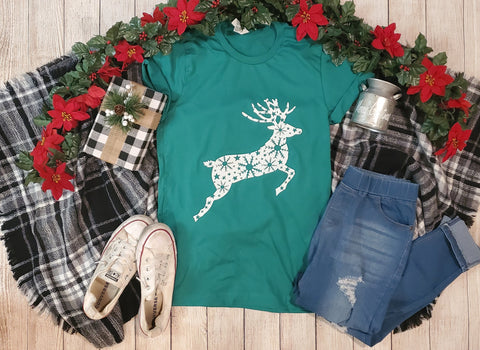 Winter Deer Graphic Tee