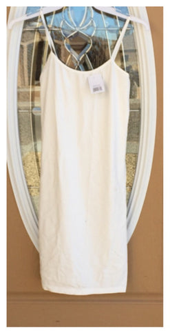 SALE!! White slip dress