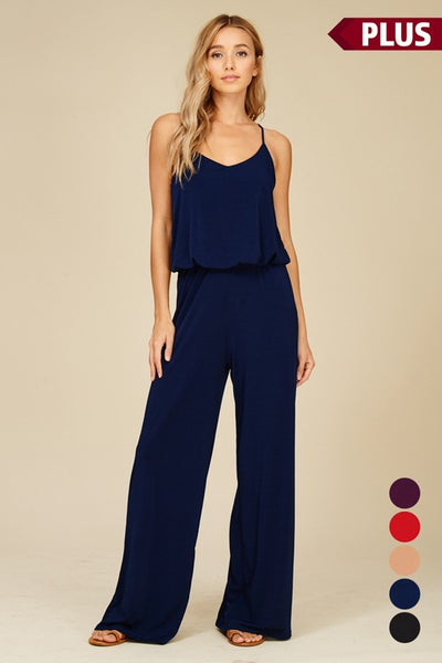 SALE!! Navy Jumpsuit