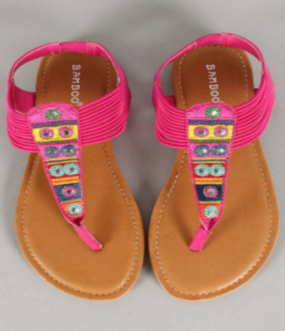 SALE!! Pink Show Off Sandals