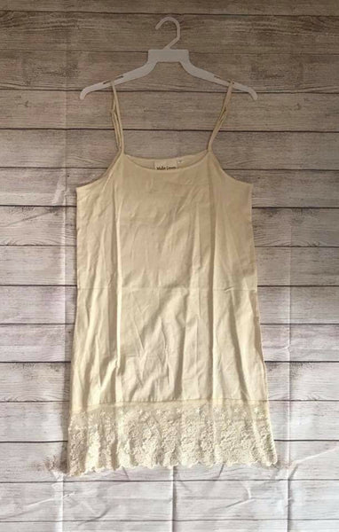 SALE!! Tan Lace Extender-LAST ONE Size Small