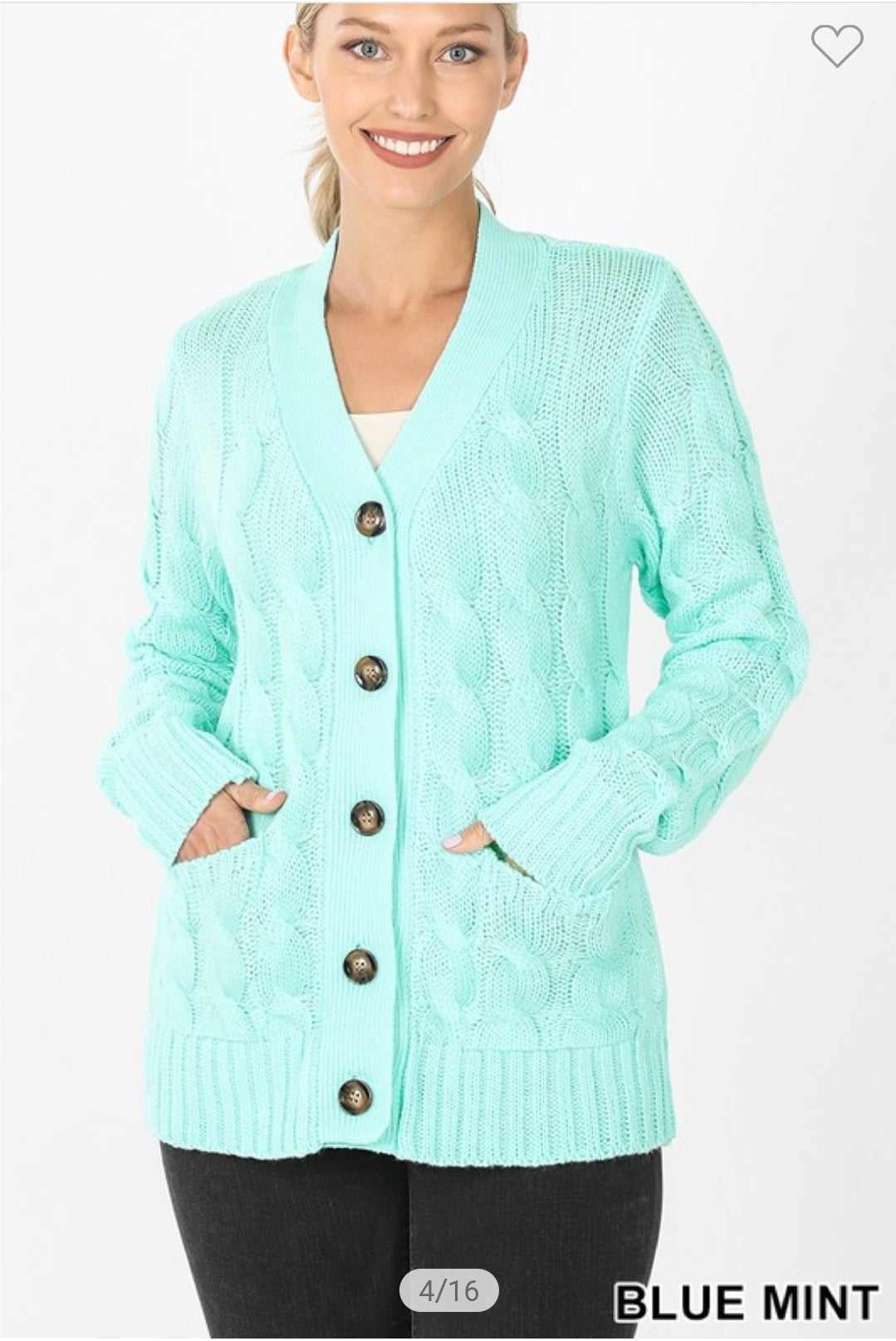 SALE!! Cable Knit Cardigan