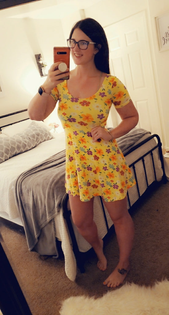 SALE!! Yellow Spring Dress