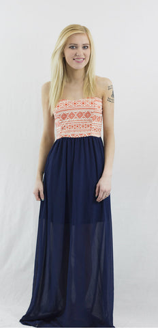 SALE!! What a Girl Wants Maxi Dress