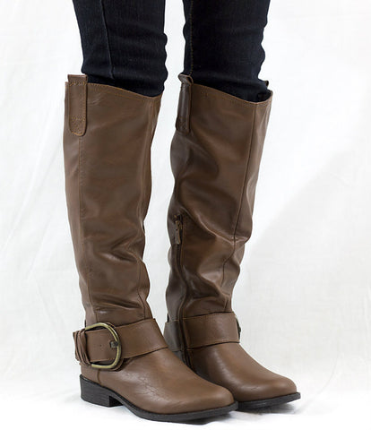 Tan Riding Boots