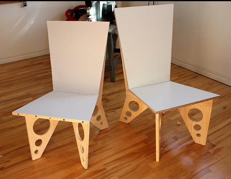 Lounge chair prototypes...