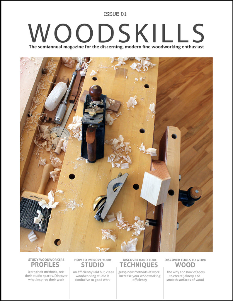 WOODSKILLS Issue 01 magazine
