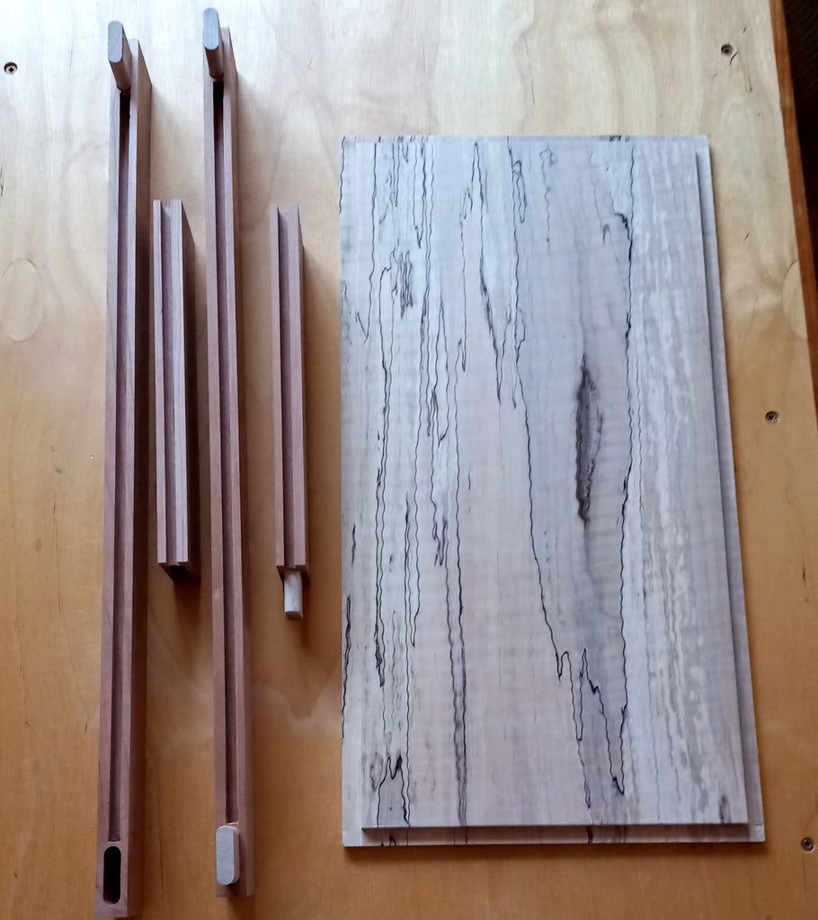 Spalted Maple Panel
