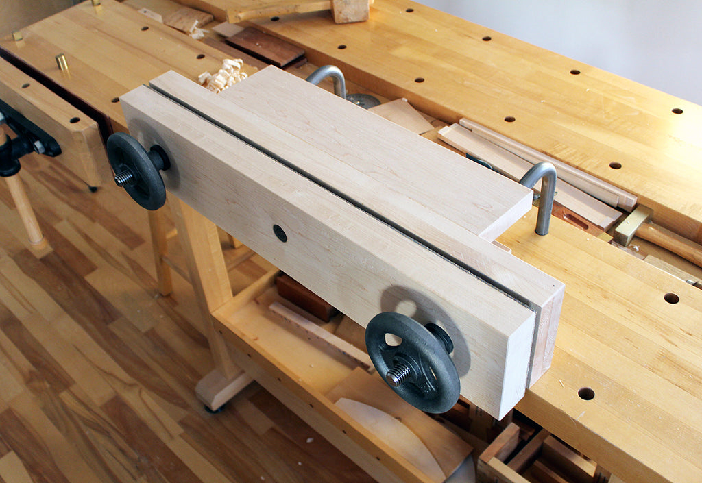 Moxon vise table and support