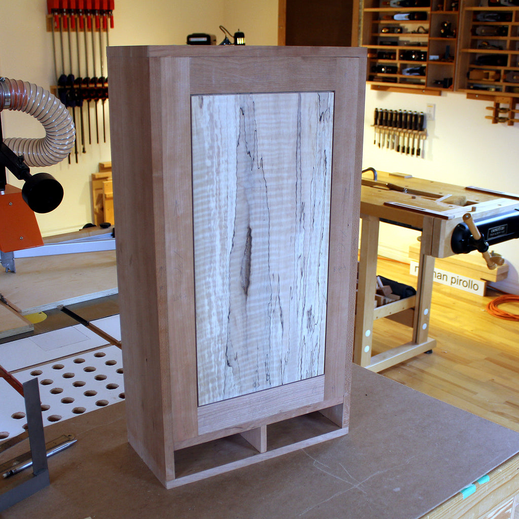 Wall Cabinet (Spalted Maple)