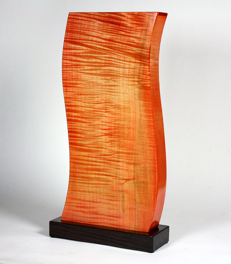 Inferno wood sculpture