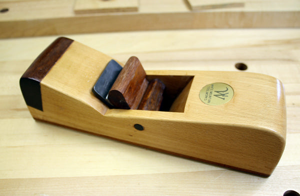 Wood smoother hand plane