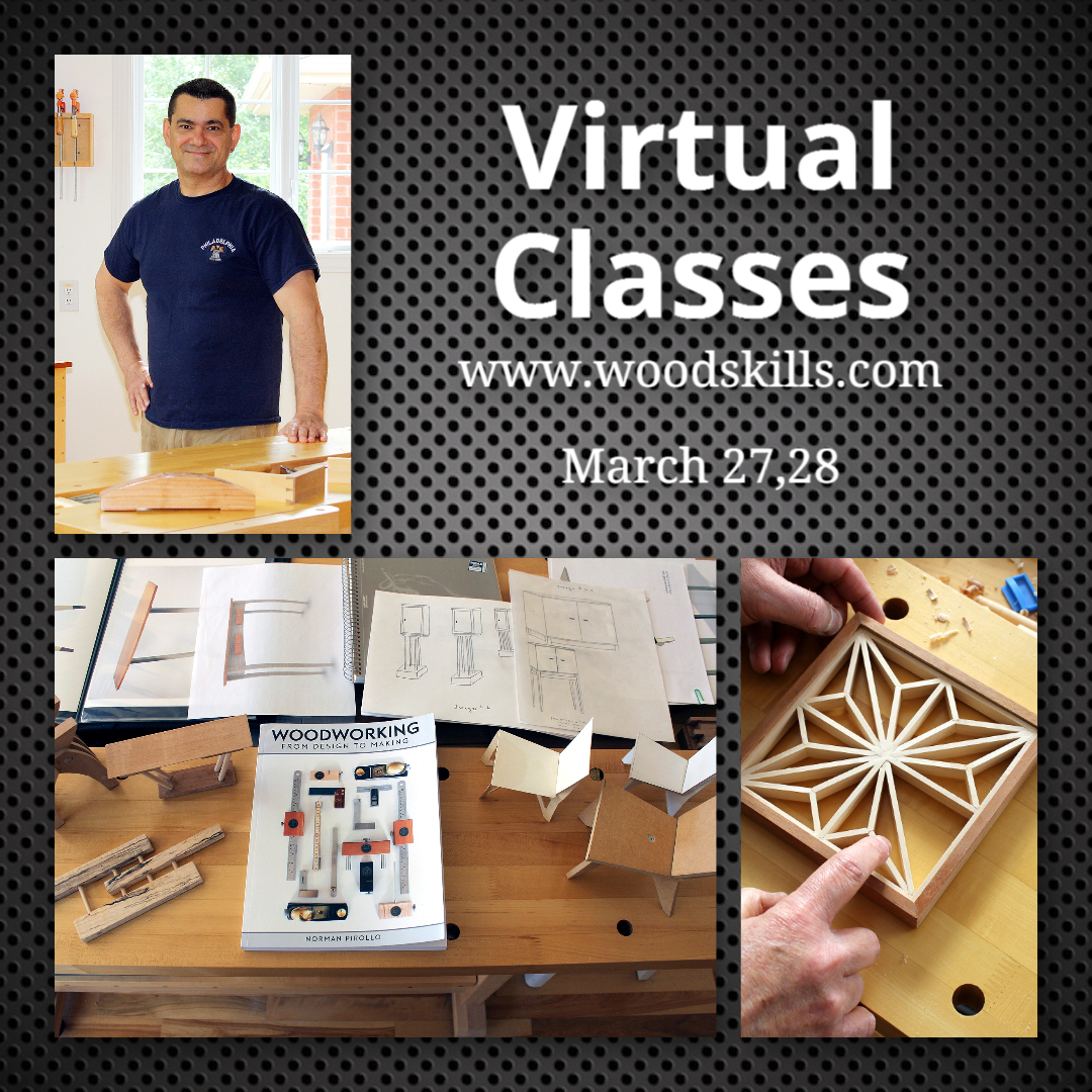 Virtual Woodworking Classes
