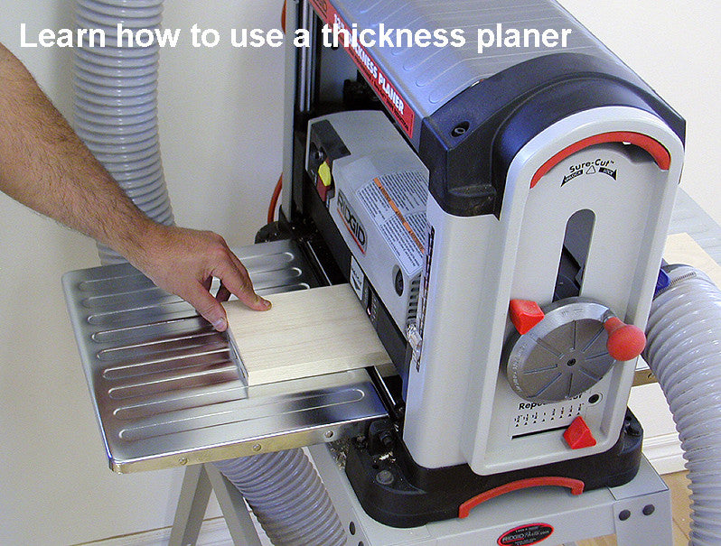 Thickness Planer used to dimension wood
