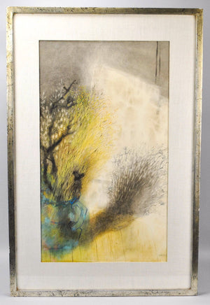 Ruth Cobb - Abstract Still Life - Signed Watercolor - c 1950