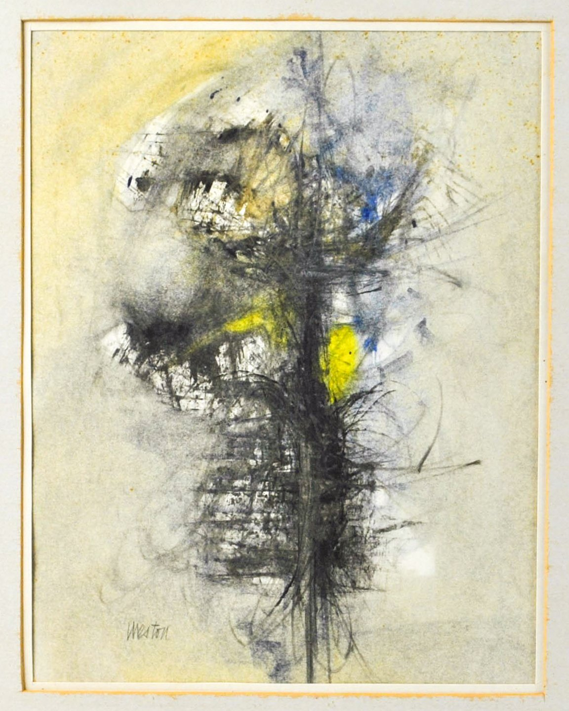 Reginald Regie Weston - Abstract - Signed Watercolor