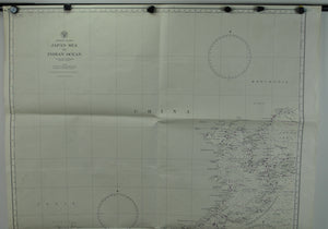 1944 Asiatic Coast Japan Sea to Indian Ocean