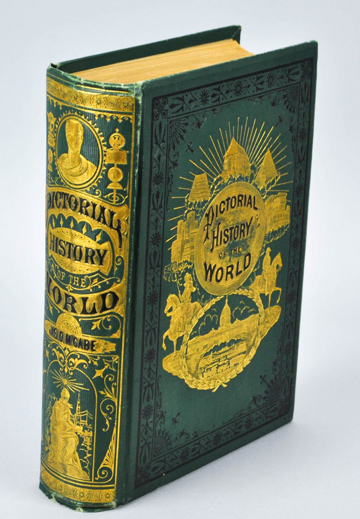 The Pictorial History of the World by James D McCabe 1877